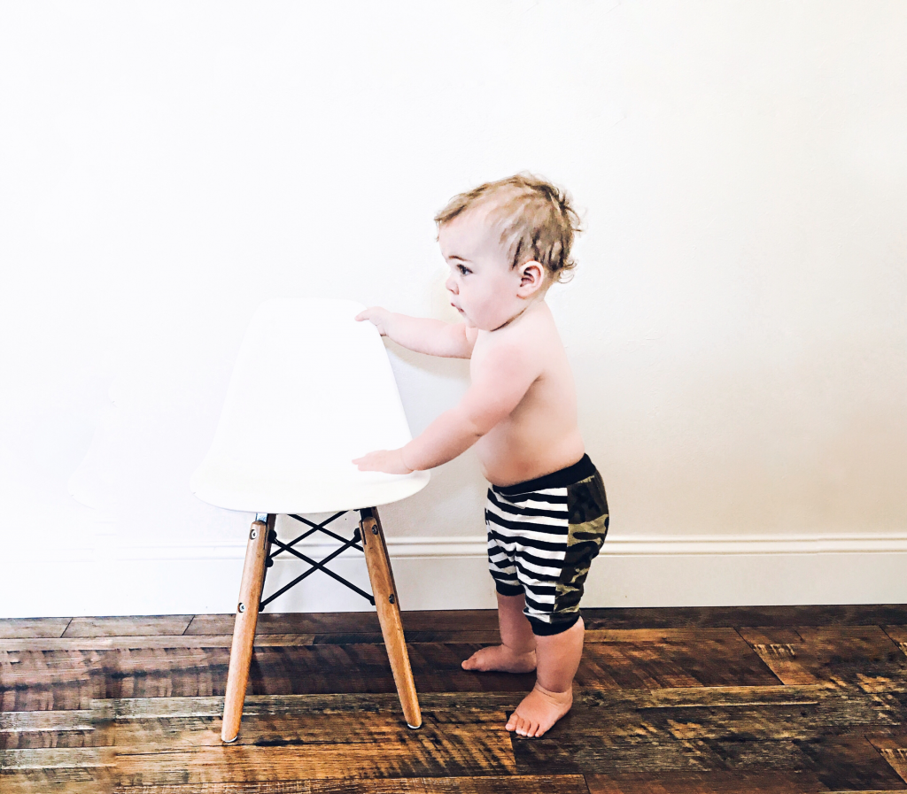 Modern Monochrome Baby