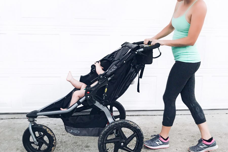 How to jog with a baby in a bob jogging stroller