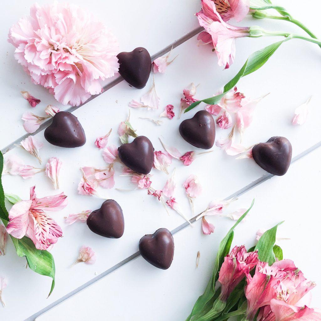 Paleo Valentines Day Truffles