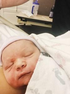 Newborn Baby Sutter Davis