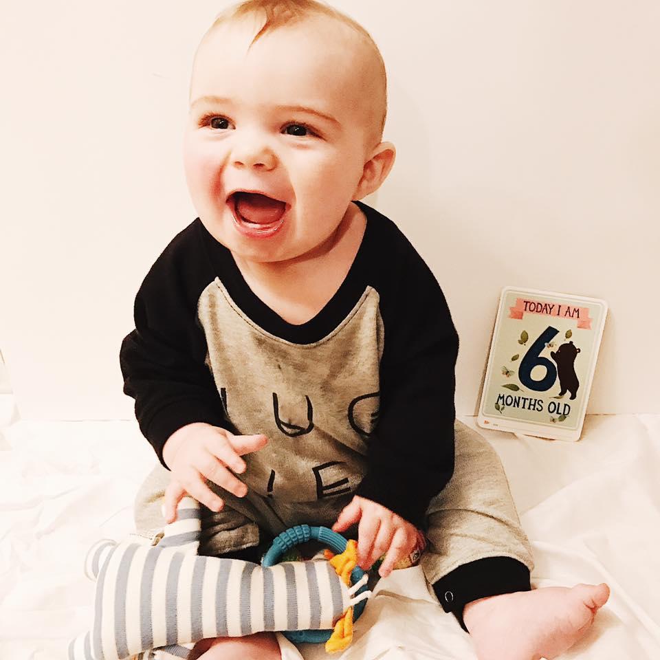 Six Months Milestone Baby
