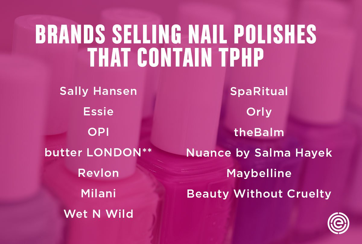 Nail Polish Brands with TPHP