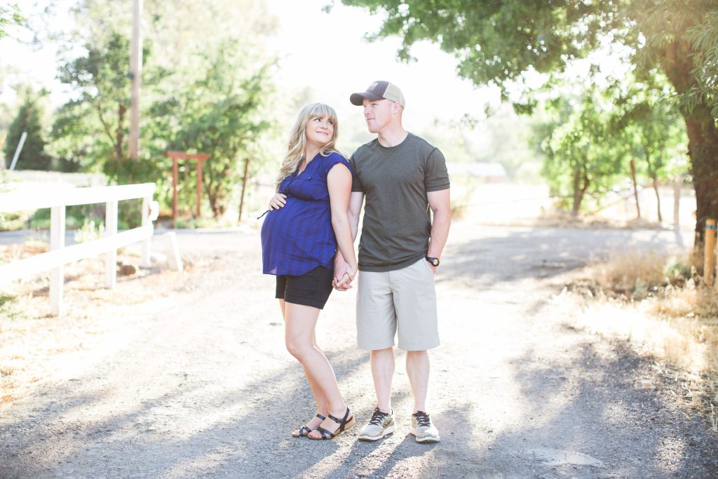 Modern Maternity Shoot