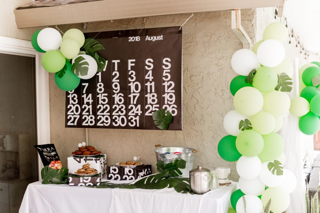 Palm Themed Birthday Party