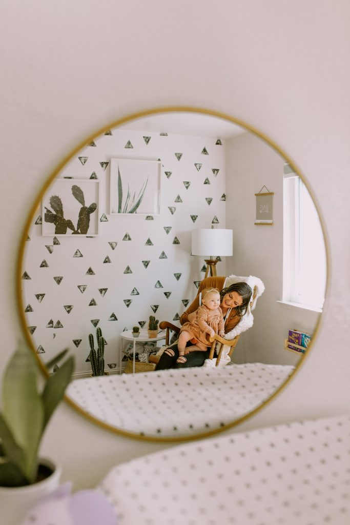 Brass Mirror from Target