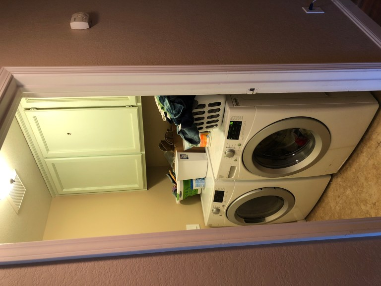 Before Laundry Room Refresh