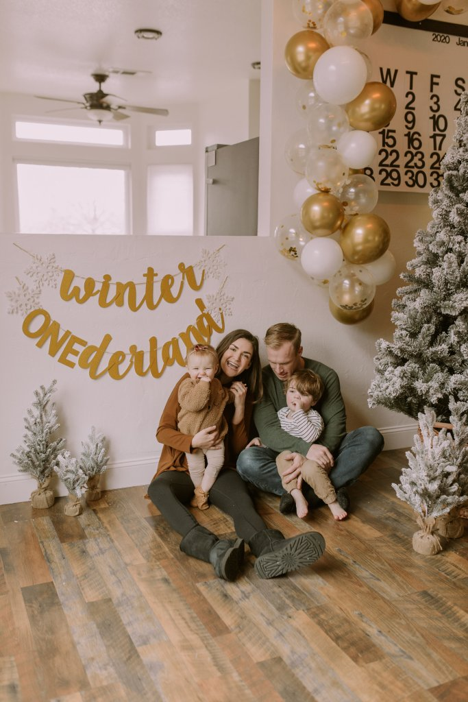 Winter Onederland Themed Party
