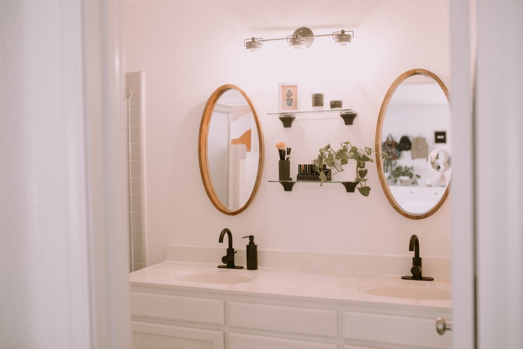Modern Master Bathroom Refresh